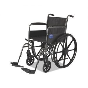 Basic Wheelchair, 18w x 16d, 300 lb Capacity