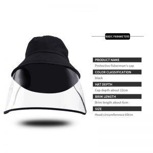 Detachable Protective Clear Protection Hat