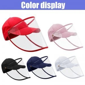 Face Covering Safety Shield Cap