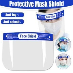 Safety Shield Mask Clear Glasses Helmet